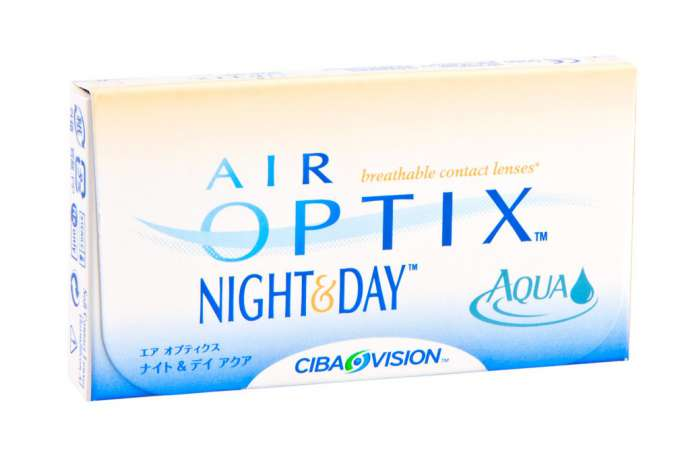 AIR Optix Night & Day Aqua  (1уп. = 3шт.)
