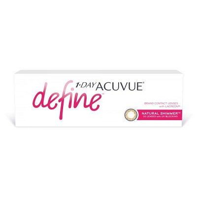 Acuvue 1-Day DEFINE SHIMMER (1уп. = 30шт.)