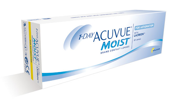 Acuvue Moist for Astigmatism (1уп. = 30шт.)